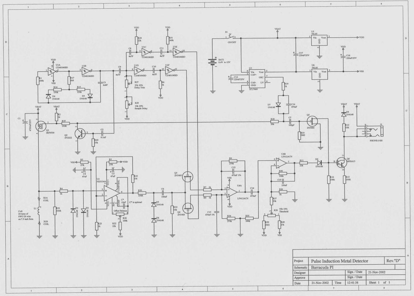 Pin By Gia Mamulashvili On Technology Pinterest Metal Simple Oscillator Pipe Locator Circuit Diagram Detector De