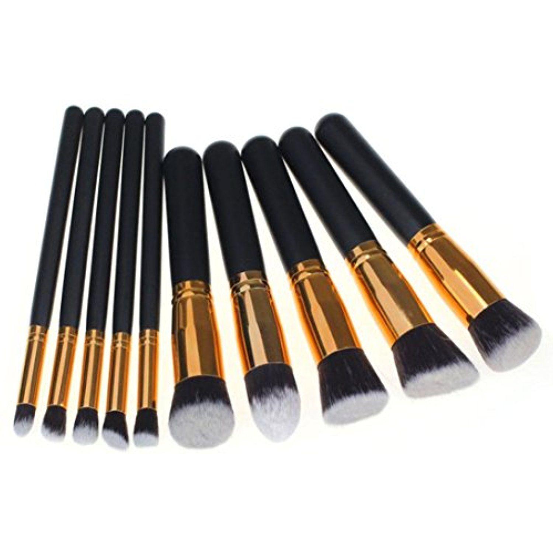Mandy 10Pcs/1Set Makeup Brush Brushes Set Foundation