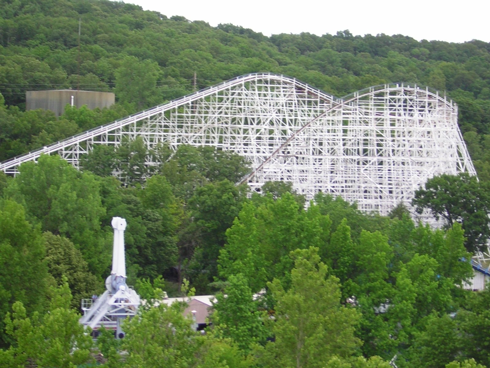 The Screaming Eagle At Six Flags St Louis Travel Spot Travel Usa Trip