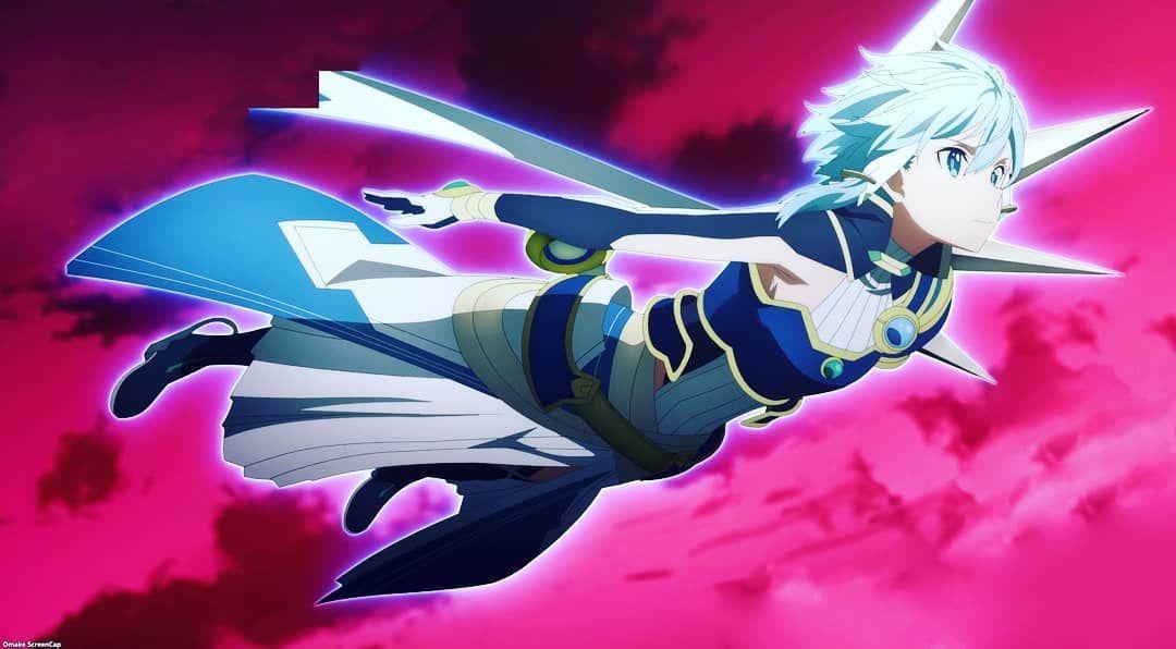 """𝑲𝒂𝒛𝒖𝒕𝒐 𝑲𝒊𝒓𝒊𝒈𝒂𝒚𝒂♡ 7𝑲 on Instagram: """"I officially declare this scene as my favourite one forever 😍""""   Anime art girl, Sword art online, Online art"""