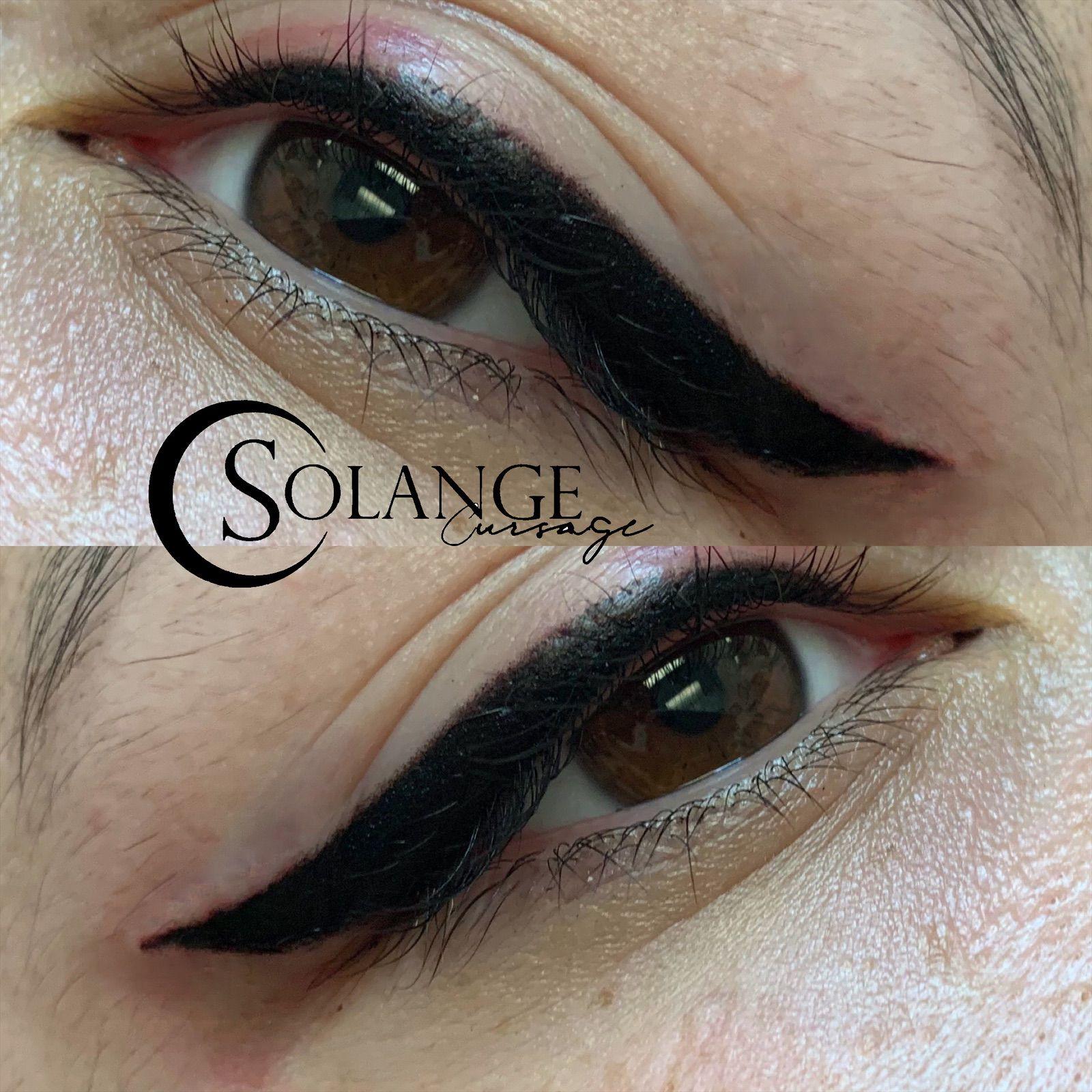 Permanent makeup tattooing Permanent makeup, Eyeliner