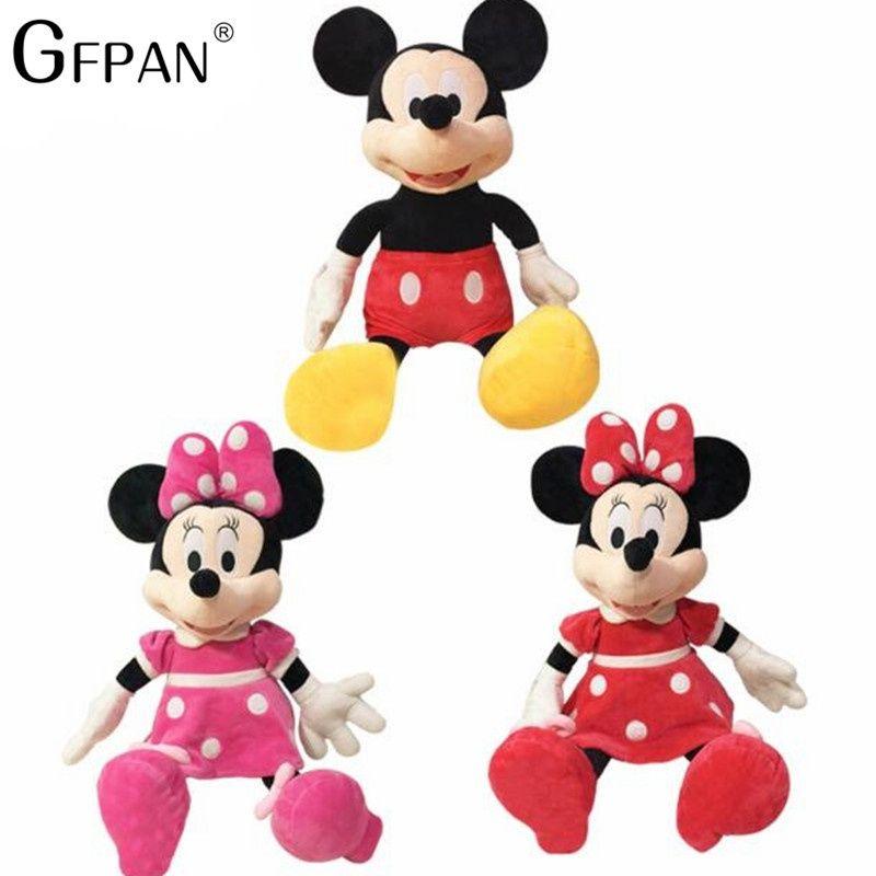 Gfpan 1 Pcs 40 60cm Hot Sale Kawaii Mickey Mouse Minnie