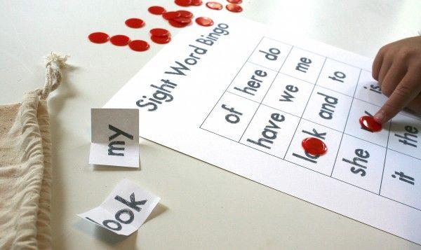 Playful Learning: Sight Word Bingo, free download, looks fun! ;)