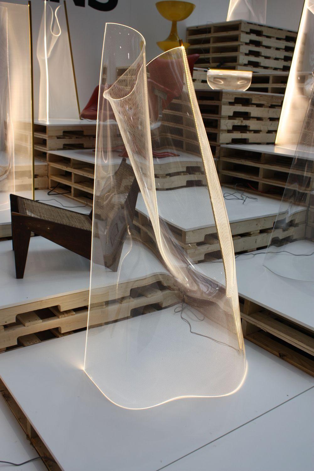 Acrylic Sheets Transform Light Into An Architectural Sculpture In 2020 Architectural Sculpture Luxury Lamps Light Sculpture