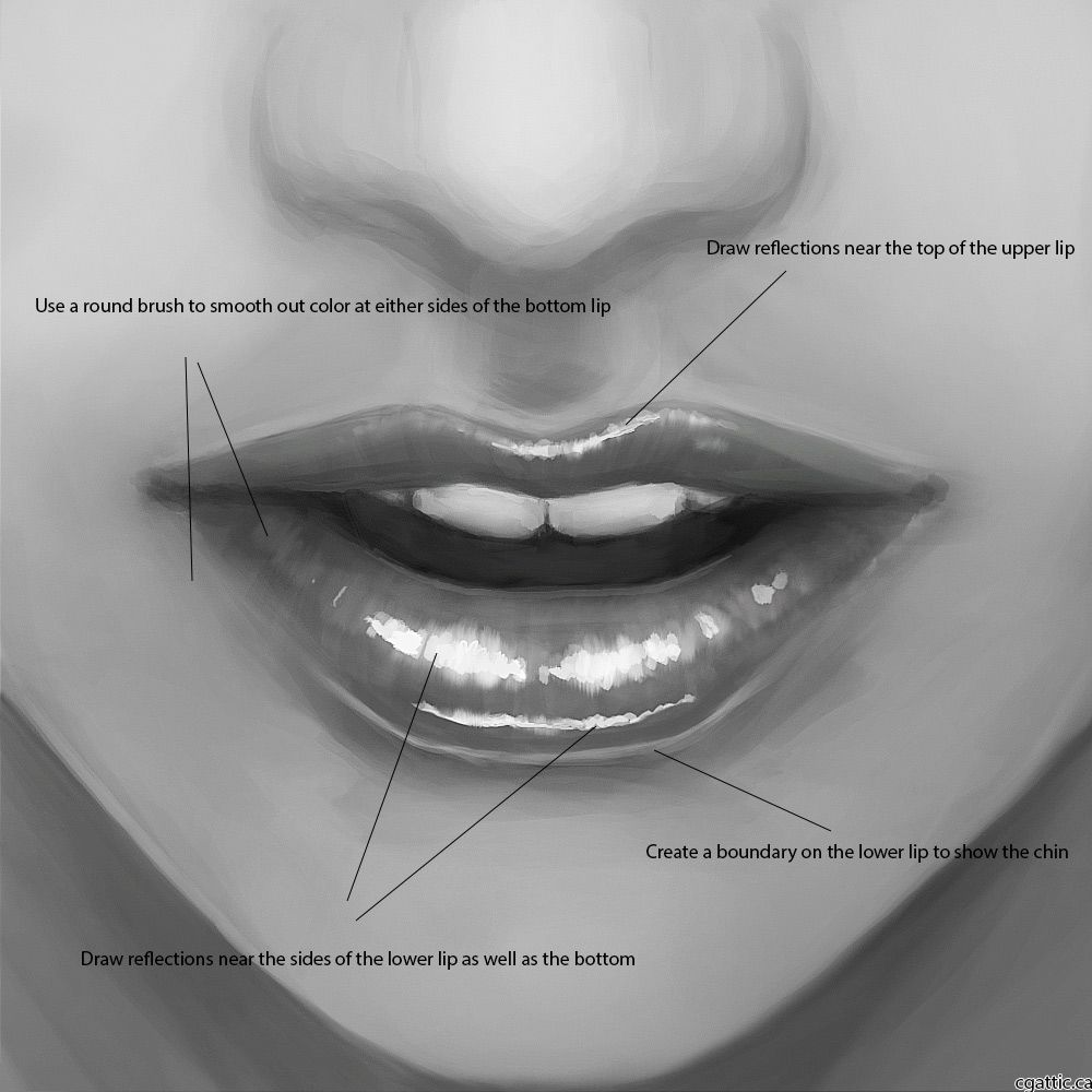 How To Draw Lips: A Neat Tutorial On How To Draw Female Lips That Looks  Real!
