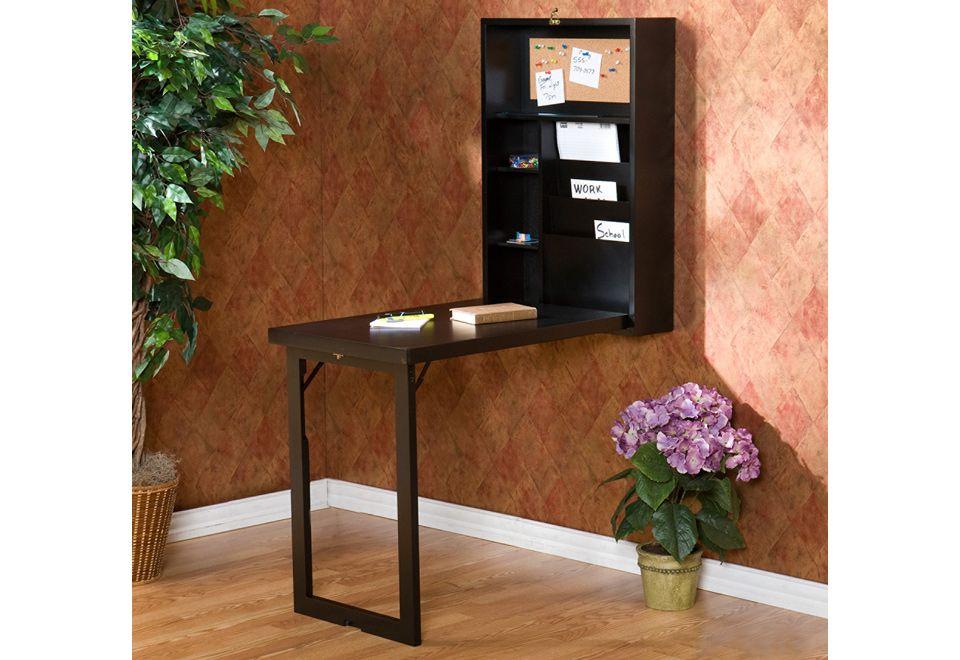 Best 25 fold down desk ideas on pinterest murphy desk for Flip top dining table ikea