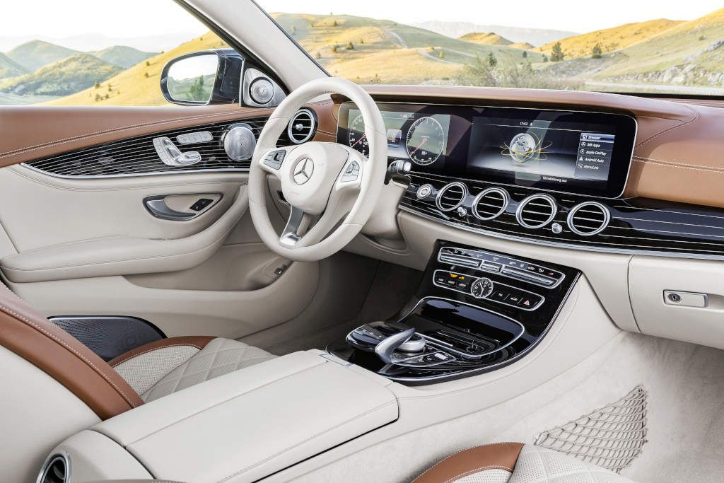 2017 Mercedes Benz E Cl Next Level Interior Design Photo Gallery Kle Limousine W 2016