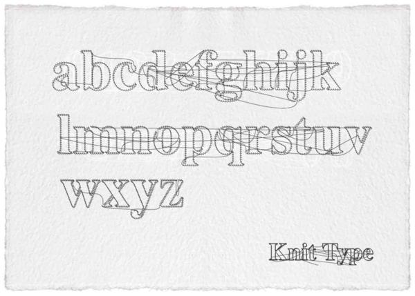 Knit typeface free font by filiz sahin via behance great font knit typeface free font by filiz sahin via behance great font colourmoves