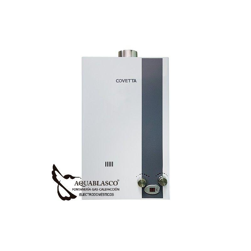Calentador Estanco Automat.10 litros Covetta | Calentadores de Gas ...
