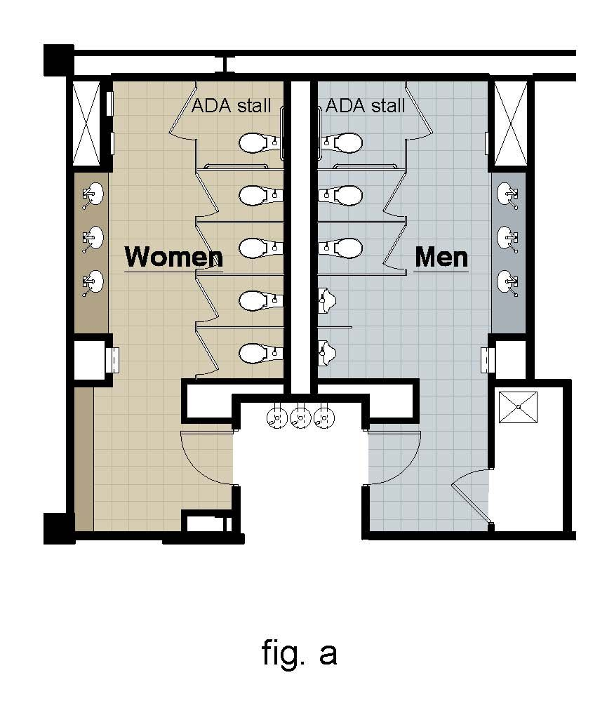 Find another beautiful images ada guidelines for five for Ada home floor plans