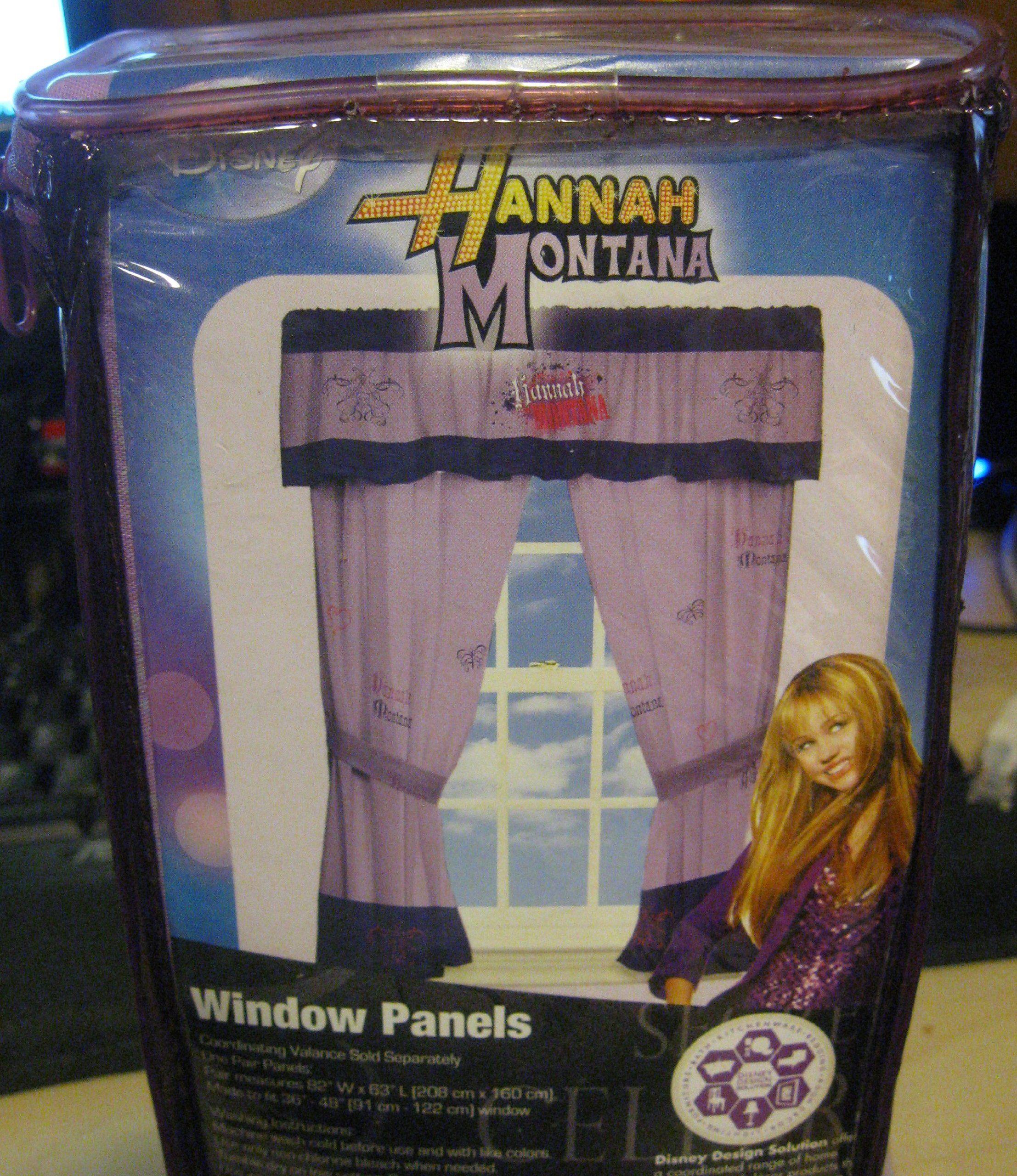 Disney Hannah Montana Guitar Window Panels (Set of 2