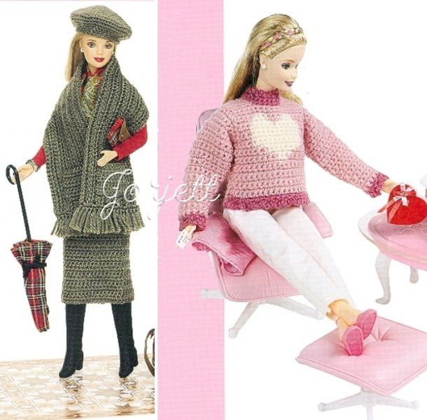 30 Free Crochet Patterns for Barbie Doll Clothes - Yahoo! Voices ...