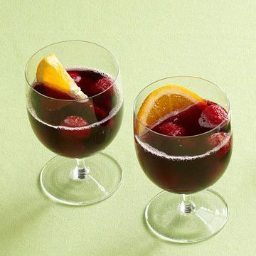 Red Wine Cooler- low in carbs and sugar. 5 oz cab sav, chilled, 6 oz diet ginger ale, chilled. Garnish with halved orange slices with some raspberries! serving size= 2 glasses 120 cal, 60 mg sod, 4 g carb