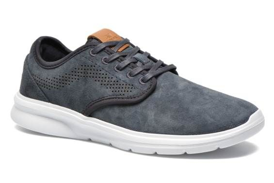 47d8ae9b56 Deportivas Vans Iso 2 Azul -- Love the grey blue with the point of camel