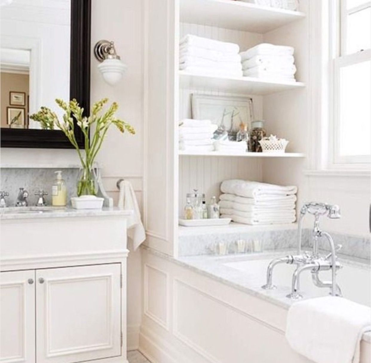 Pin by Barbie Young on bathroom ideas | Pinterest | Bath, Hall and ...