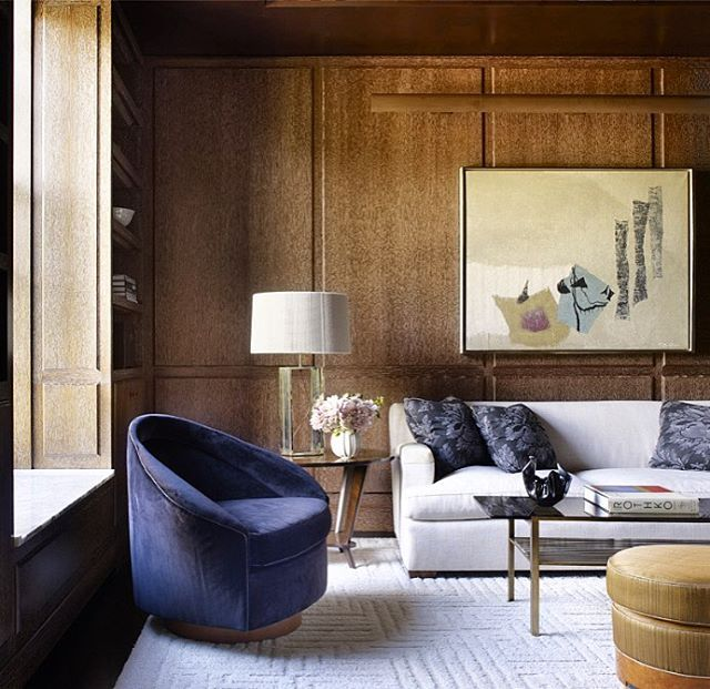 Thad Hayes Elle Decor, November 2016 Classic Contemporary - contemporary wall paneling