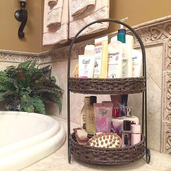 12 Ideas for Organizing in the Bathroom