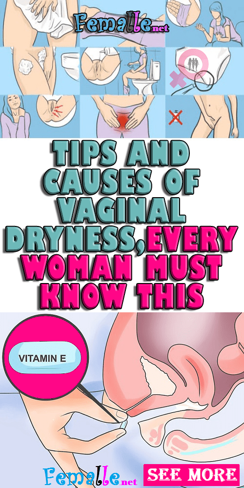 Vaginal care must be observed