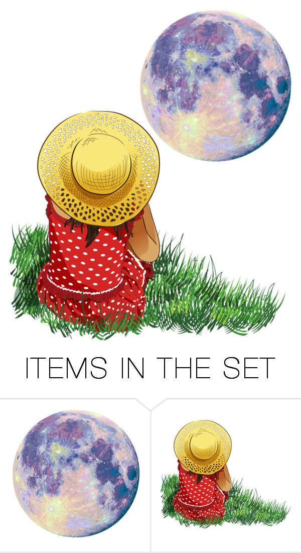 """""""Moon Magic"""" by coolartist ❤ liked on Polyvore featuring art"""
