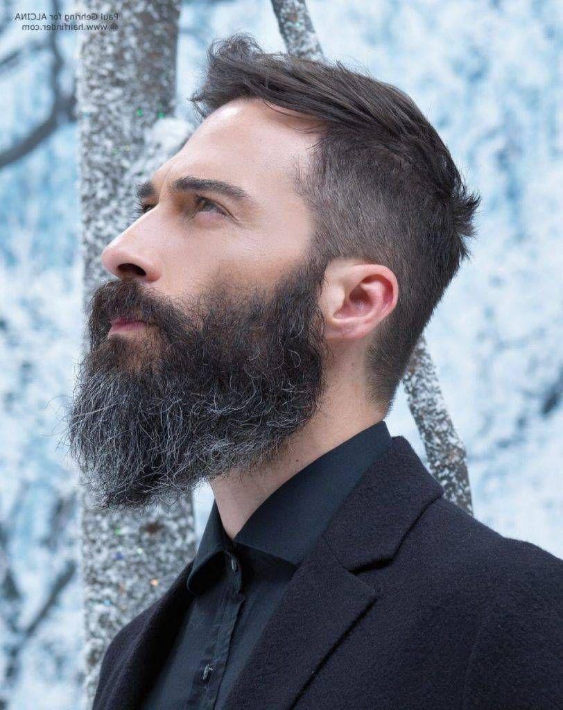 Top Short Hair Long Beard Style Barba Cabello Barberia