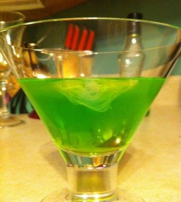 Great Cocktail Recipes: Ectoplasm Cocktail / Ectocooler via Common Man Cocktails