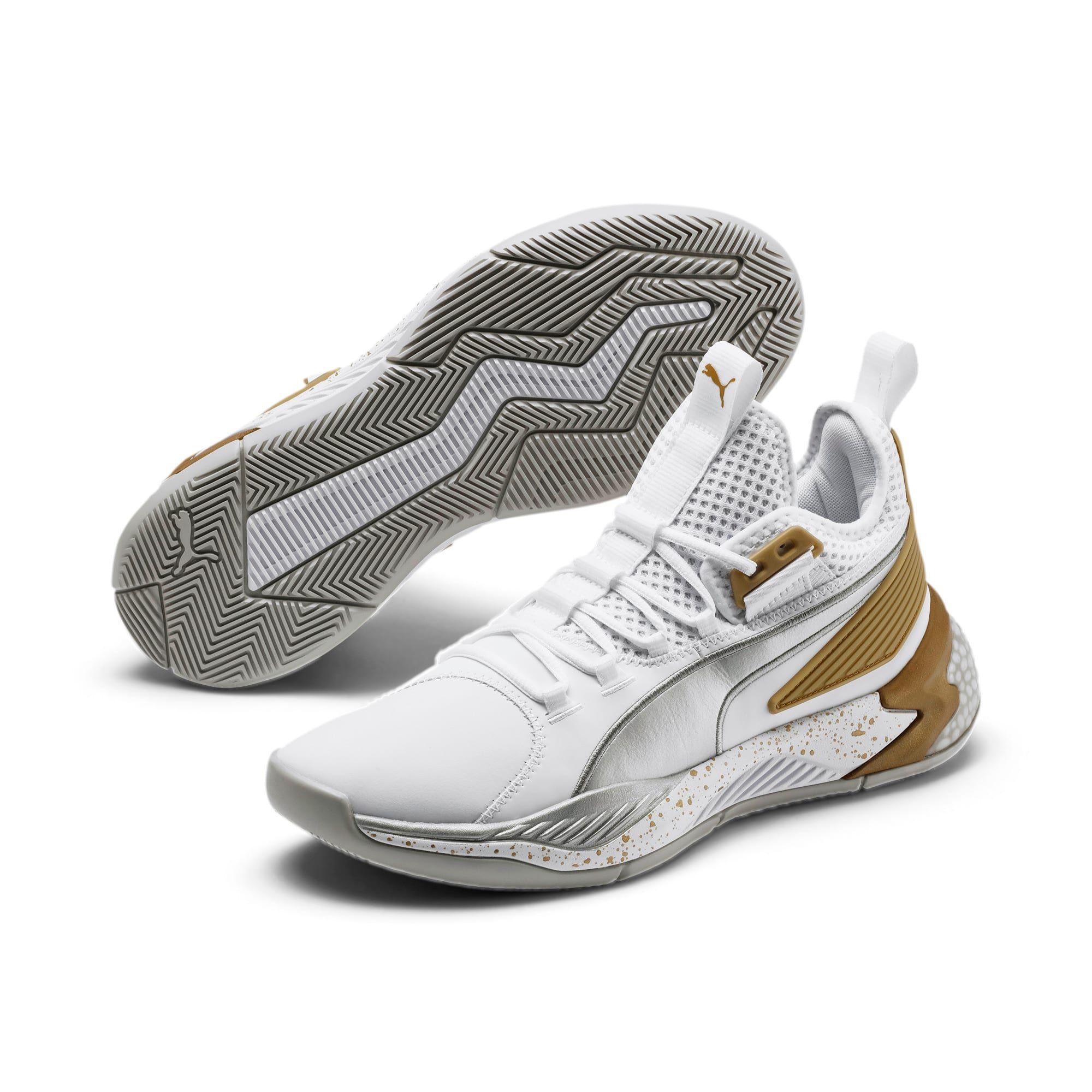 PUMA Chaussure de basket Uproar Core pour Homme, Blanc