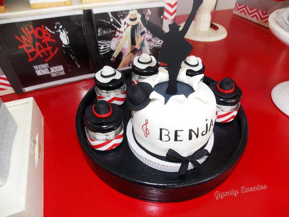 Cool cake at a michael jackson birthday party see more