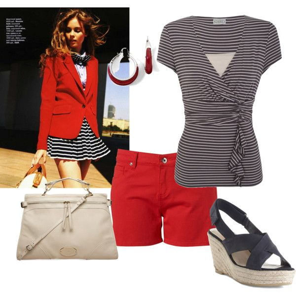 nautical, created by tigerwoman37086 on Polyvore