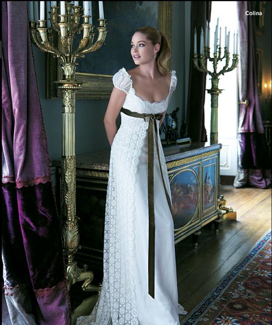 lindo vestido al estilo de josefina! ♥ | moda | wedding dresses