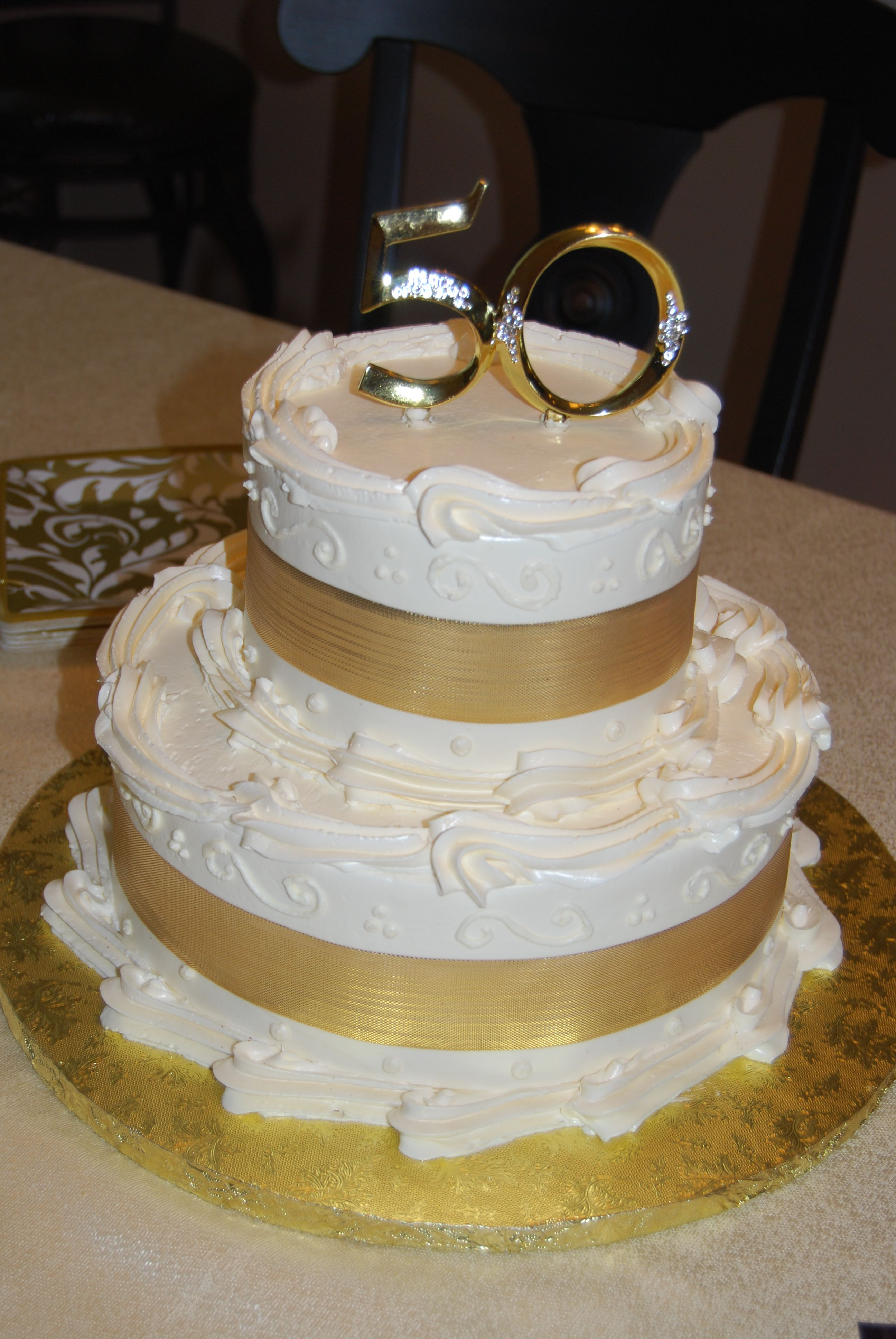Newtown Square (With images) 50th anniversary cakes