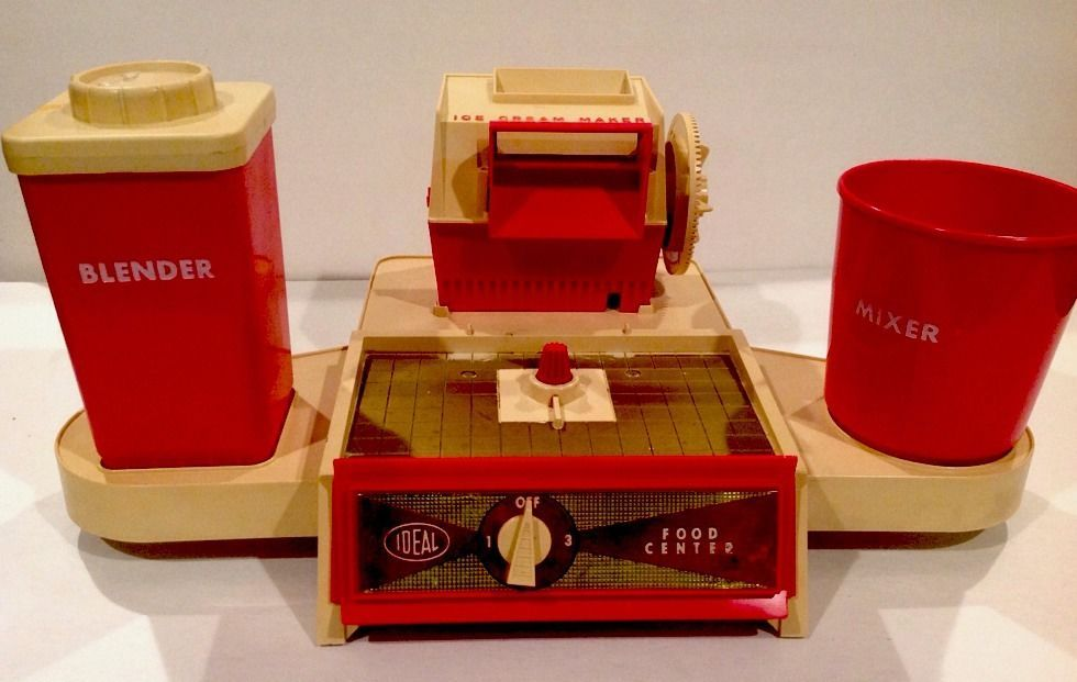 Details About Vintage Play Pal Ideal Toy Corp Motorized Food Center