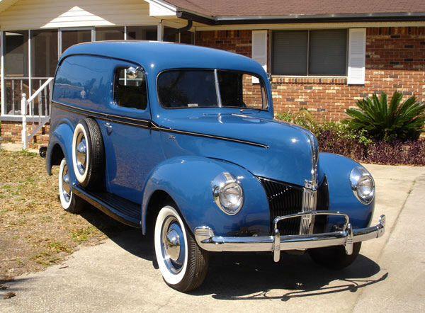 1940 Ford Panel Van