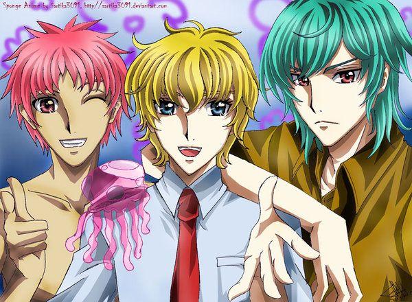 Sponge Anime by Sartika3091 on DeviantArt