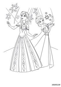 Coloriage Reine Neiges 6 Birthday Theme Pinterest Coloriage