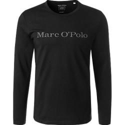 Photo of Marc O'Polo Men's Long Shirt, Regular Fit, Organic Cotton, Black Marc O'Polo