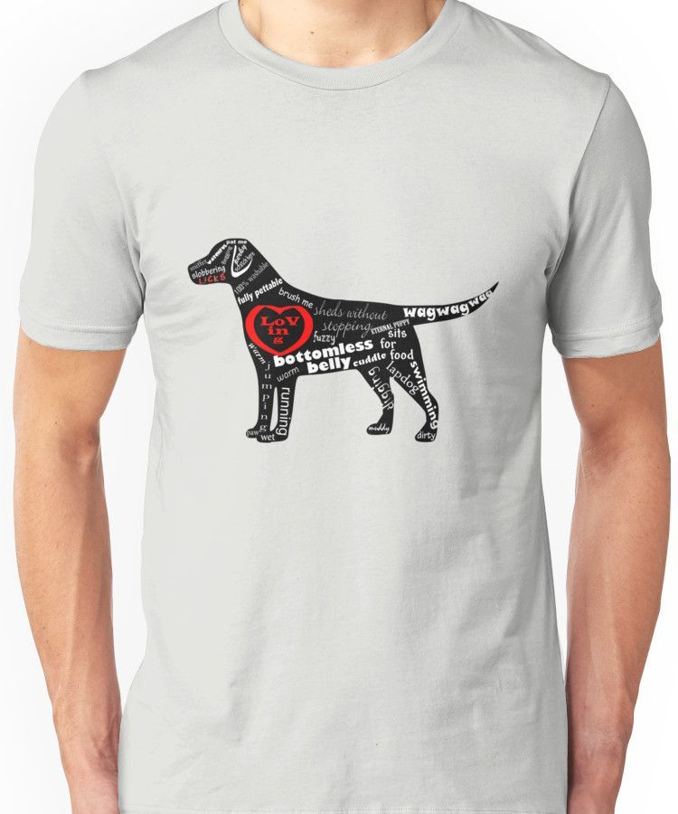 The Anatomy of a Labrador Retriever\' T-Shirt by fishcakefillet ...