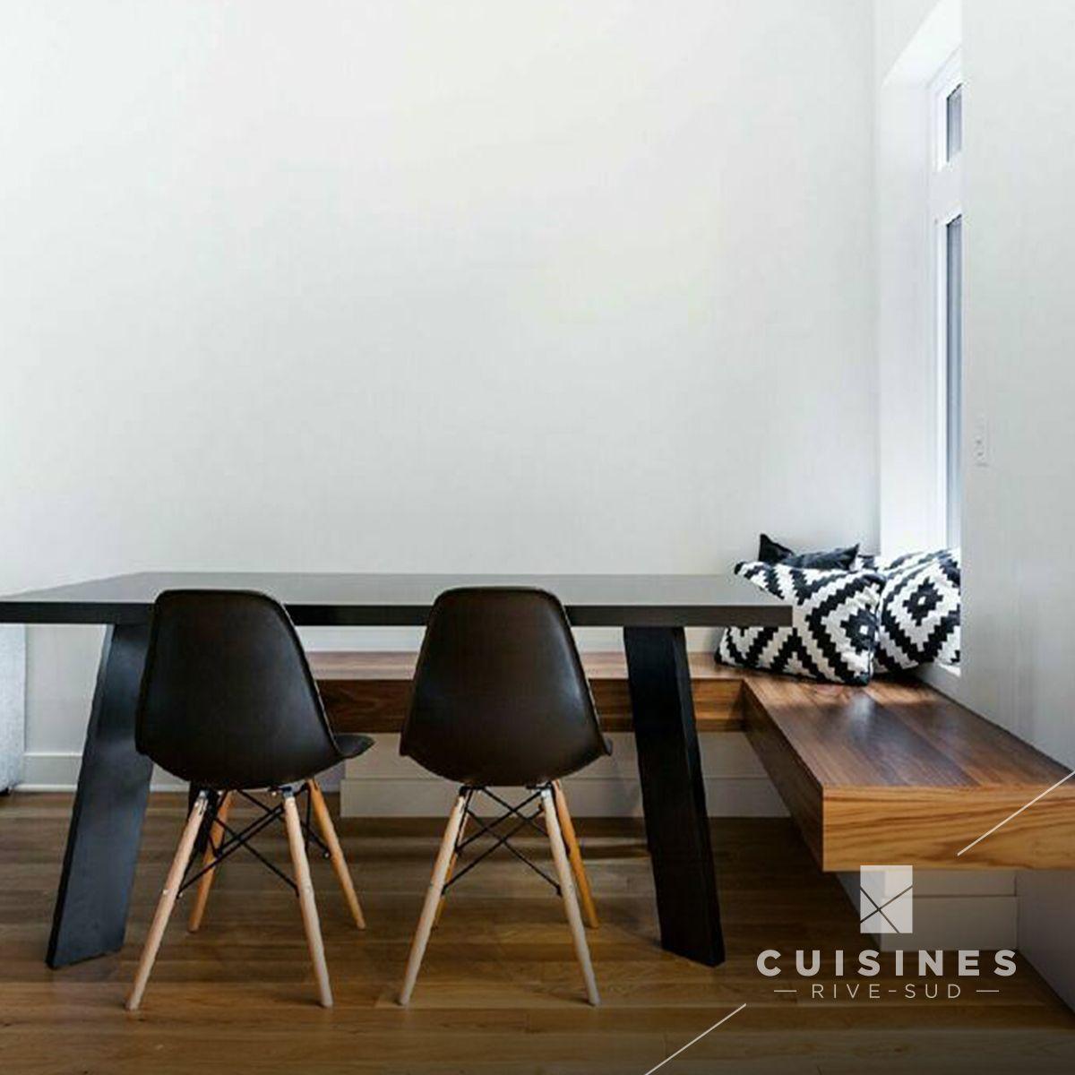 #dinningroom #salleamanger #salleàmanger #dinningroomideas #idéesalleàmanger #designinterieur #interiordesign #dinningtable #tableàdiner #tableàmanger #tablecuisine #table #banquette #banc #moderndesign #tablemoderne #chaises