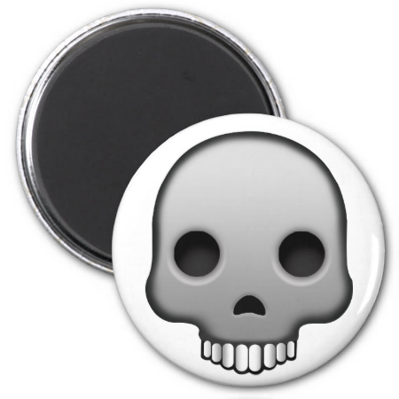 Skull Emoji Magnets Skull Magnets Emoji Magnet Emoji
