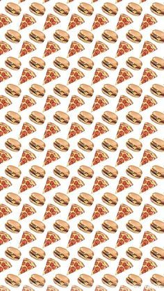 Pizza Burger Iphone Wallpaper Hipster Wallpaper Emoji Wallpaper Pizza Wallpaper