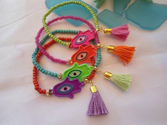 519561c75ba7 VENTA---HAMSA bohemio brazaletes étnicos-amuleto protección pulseras  joyería - Gypsy pulseras