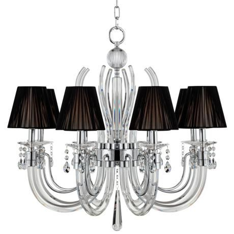 "Derry Street Crystal Arms 32"" Wide Large Black Chandelier master bedroom chandelier option"