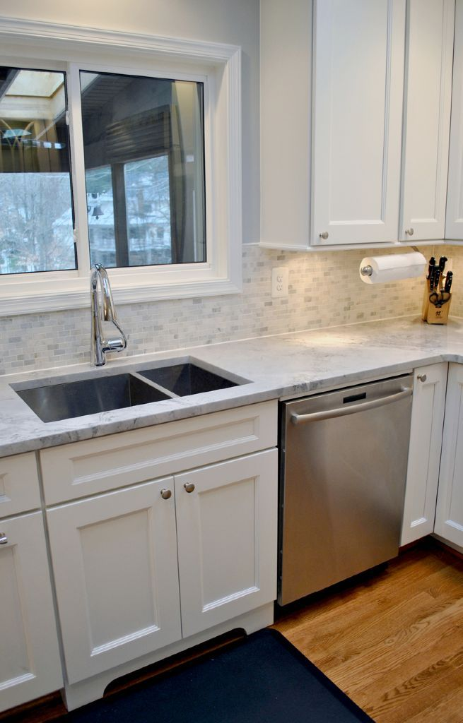 beautiful white kitchen remodel in mclean virginia with super white quartzite countertops on kitchen remodel not white id=13069