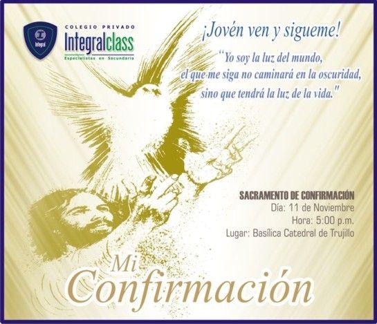 Imagenes para invitación de confirmacion catolica Imagui