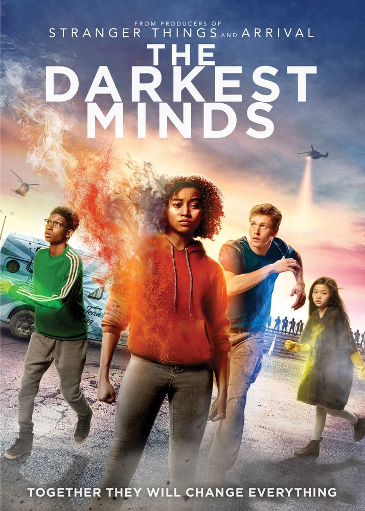 The Darkest Minds Dvd 2018 Mente Sombria Filmes Completos