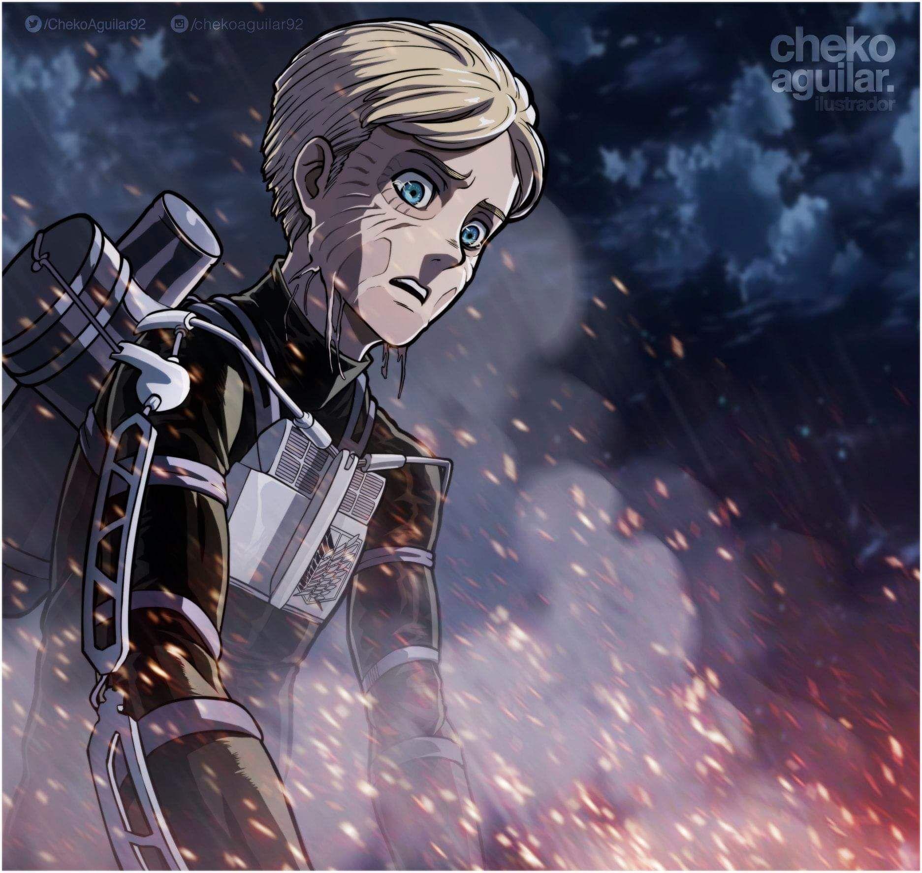Pin By Charliecarls1 On Attack On Titan Shingeki No Kyojin Armin Attack On Titan Anime