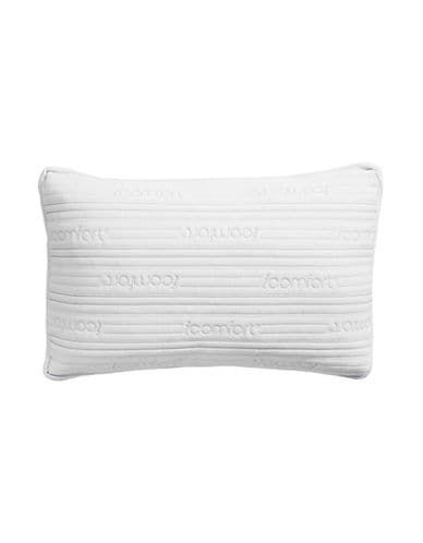 Serta All Sleep Position Icomfort 2 In 1 Scrunch Memory Foam Pillow White Size Memory Foam White Pillows