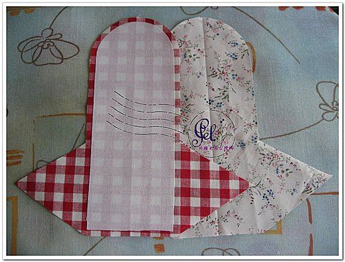 Adesivo De Parede Infantil Nuvem ~ Carteira em tecido passo a passo Carteiras, Passo e