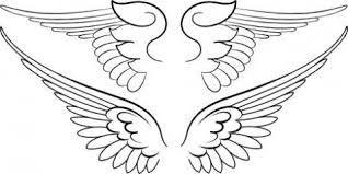 engel flügel   flügel zeichnung, vorlagen zum ausmalen und malvorlagen