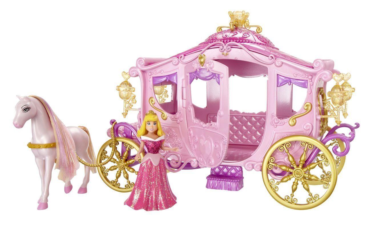 Mattel W5929 Principesse Disney, set carrozza: Amazon.it: Giochi e giocattoli
