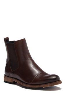 61a3692f915d4 English Laundry - Albans Cap Toe Chelsea Leather Boot | Mens Boots ...
